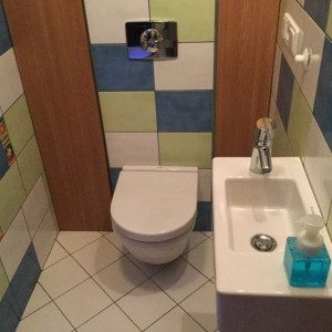 separated toilet