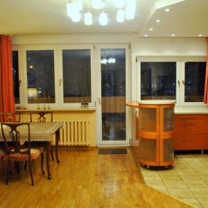 Dining area with livingroom