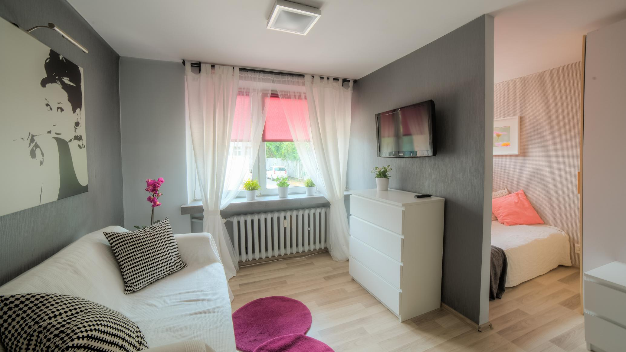 Living Room Bedroom In Living Room cracow old town helclow str 1 bedroom livingroom 2400 pln total livingroom