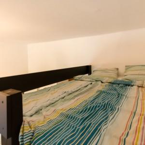 Bedroom area on mezzaine