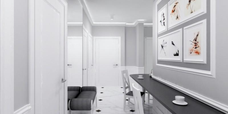 Kitchen /Hallway