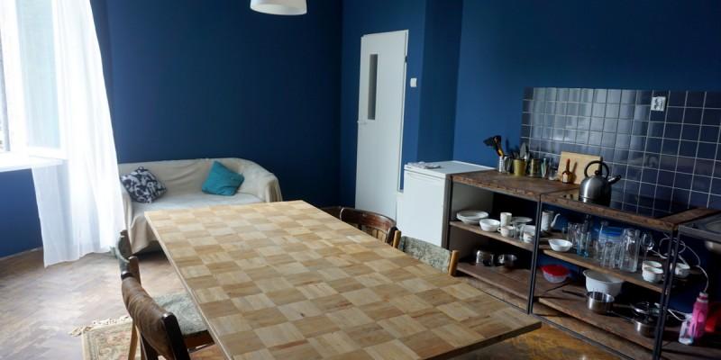 Livingroom +kitchen anex