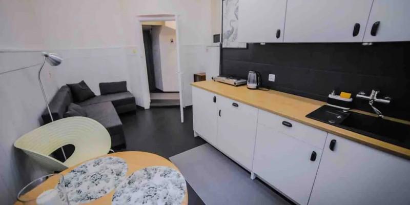 Livinroom + kitchen anex